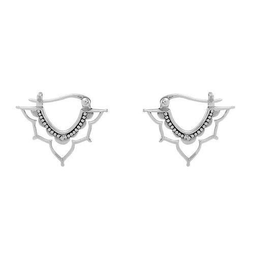 MIDSUMMER STAR | Templum Sleeper Earrings | Sterling Silver