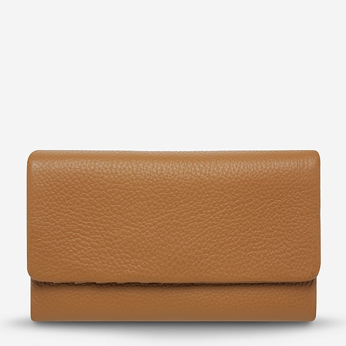 Status Anxiety | Audrey Wallet | Pebble Tan