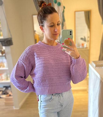 Brooklyn Knit Jumper | Lilac