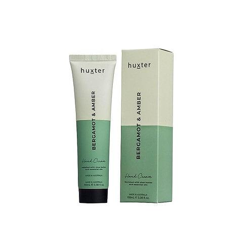 HUXTER | Hand Cream Duo 100ml | Bergamot & Amber