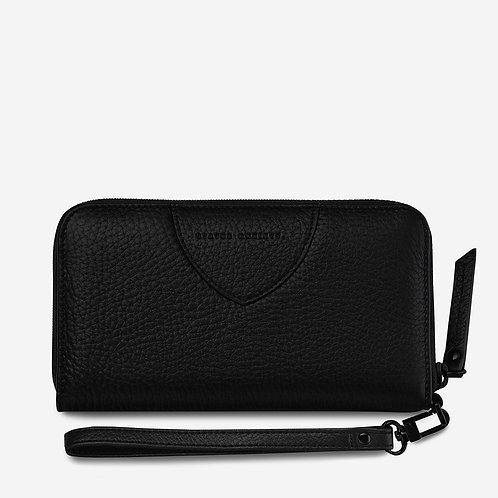 STATUS ANXIETY | Moving On Wallet | Black