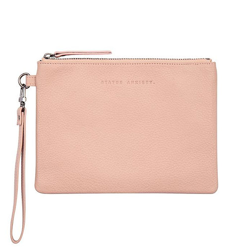 STATUS ANXIETY | Fixation Clutch | Dusty Pink