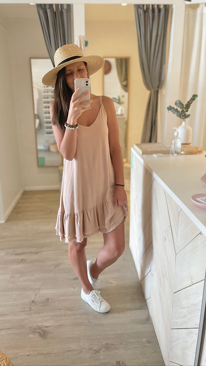 Gisabelle Dress | Dusty Pink