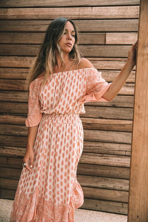 SAN JOSE THE LABEL | Sundaze Maxi dress | Peach