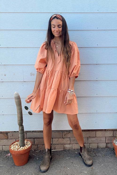 SAN JOSE THE LABEL   Aria Tunic Dress   Peach