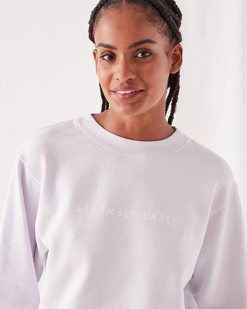 ASSEMBLY LABEL | Logo Fleece | Lilac