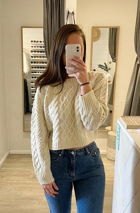 Gemma Knit   Cream