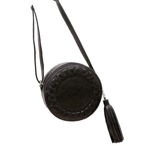 The Frankie Round Bag | Black
