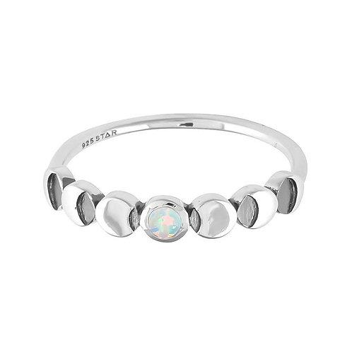 MIDSUMMER STAR | Lunar Phases Opal Ring