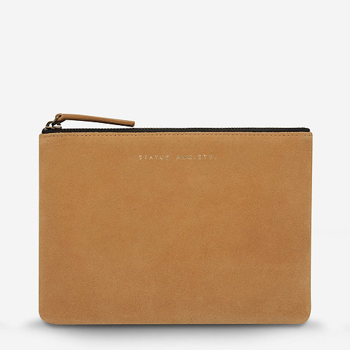 STATUS ANXIETY | Momentary Clutch | Tan