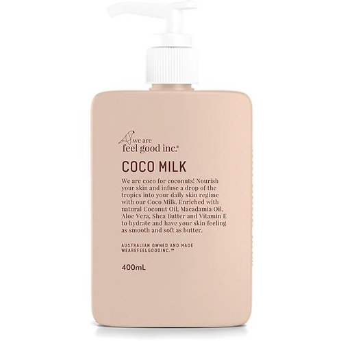WE ARE FEEL GOOD INC. | Coco Body Milk Moisturiser | 400ml