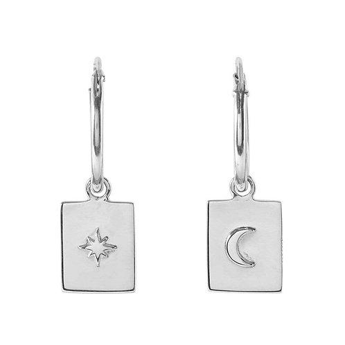 MIDSUMMER STAR | Silver Celestial Medallion Sleepers