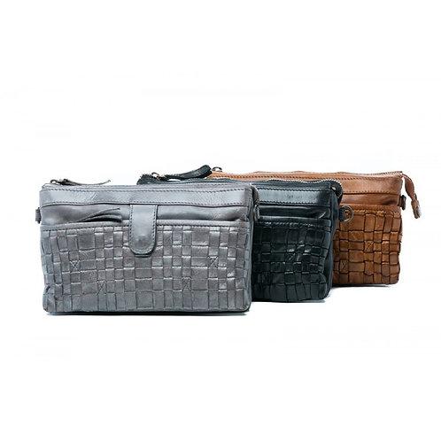 RUGGED HIDE | Sadie Leather Bag | Grey