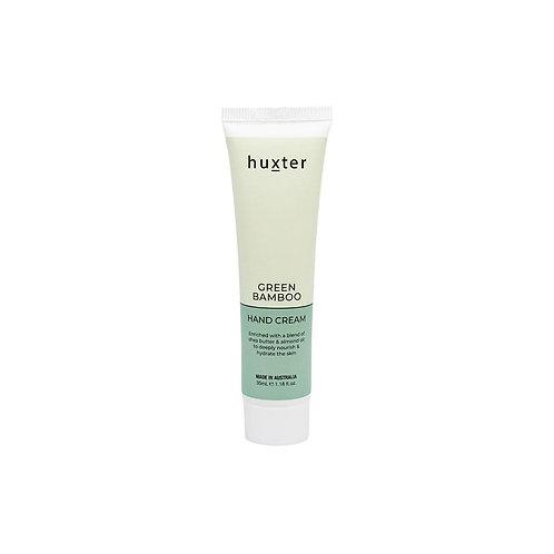 HUXTER | Hand Cream 35ml | Green Bamboo