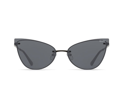 QUAY EYEWEAR | Lady Luck | Black/Smoke