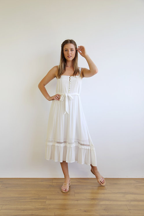 The Florence Dress | White
