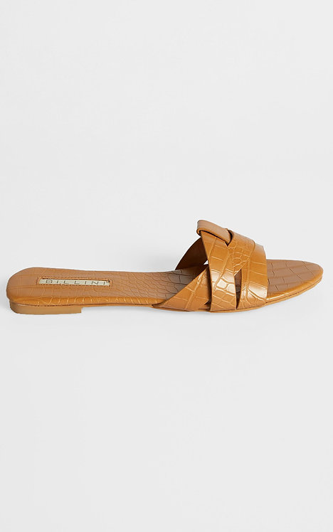 BILLINI | Peppa Sandals | Camel Croc