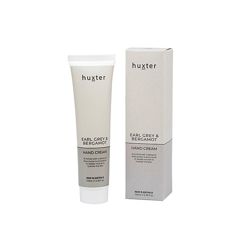 HUXTER | Hand Cream 100ml | Earl Grey & Bergamot