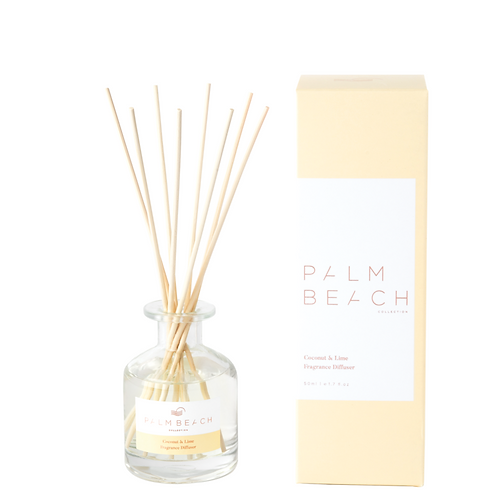PALM BEACH COLLECTION | Coconut & Lime | Mini Reed Diffuser