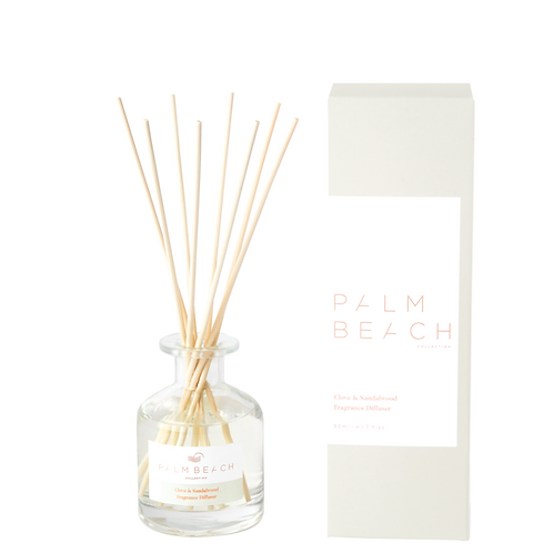PALM BEACH COLLECTION | Clove & Sandalwood | Mini Reed Diffuser