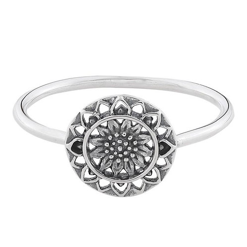 MIDUMMER STAR | Sunflower Mantra Ring