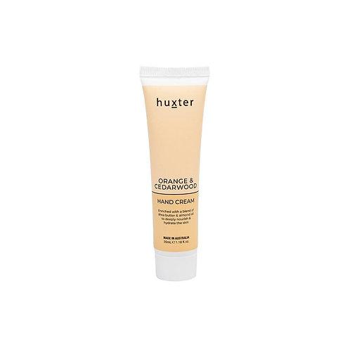 HUXTER | Hand Cream 35ml | Orange & Cedarwood