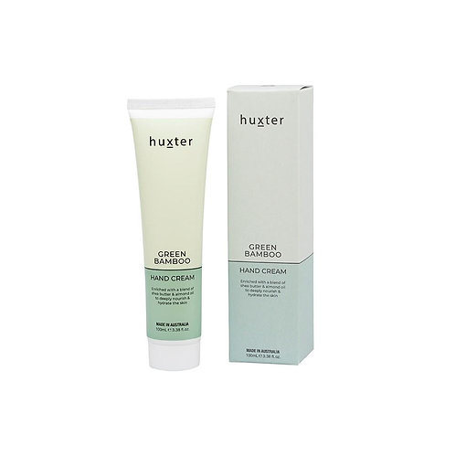 HUXTER | Hand Cream 100ml | Green Bamboo