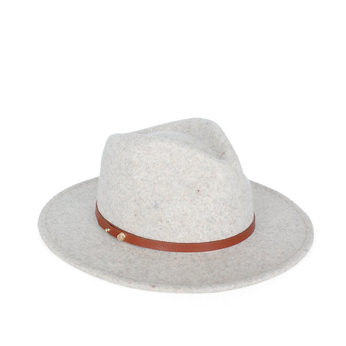 ACE OF SOMETHING | Oslo Felt Hat | Pebble Fedora