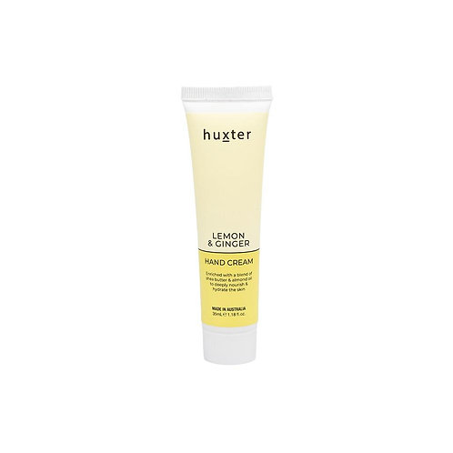 HUXTER | Hand Cream 35ml | Lemon & Ginger