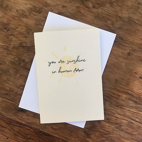 Gift Card | You Are Sunshine