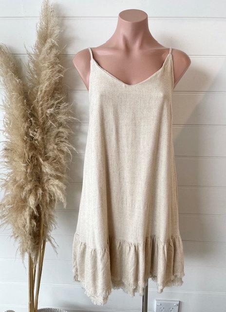 Gisabelle Dress | Natural