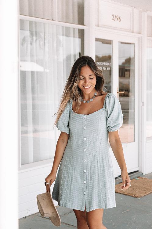 SAN JOSE THE LABEL   Coco Mini Dress   Sage