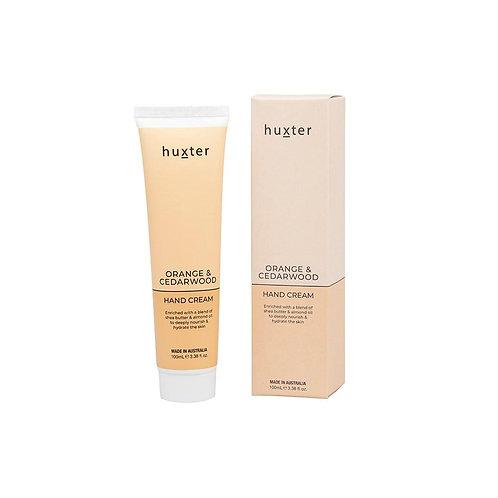 HUXTER | Hand Cream 100ml | Orange & Cedarwood
