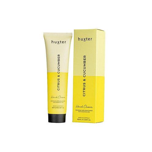 HUXTER | Hand Cream Duo 100ml | Citrus & Cucumber 100ml