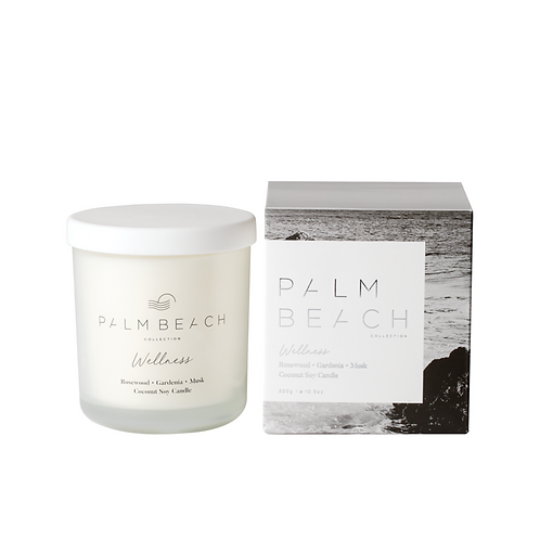 PALM BEACH COLLECTION | Wellness Candle | Rosewood, Gardenia & Musk