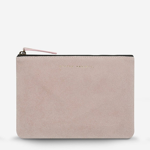 STATUS ANXIETY | Momentary Clutch | Dusty Pink
