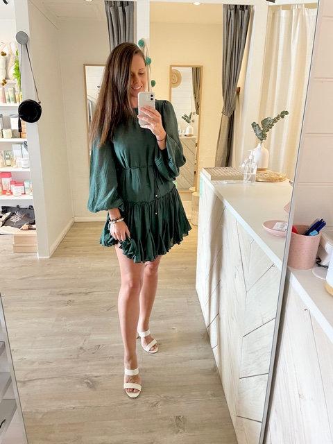 Alisha Dress | Emerald