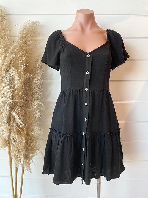 Santorini Dress | Black