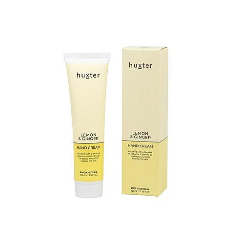 HUXTER | Hand Cream 100ml | Lemon & Ginger