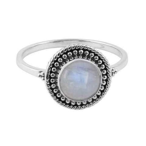 MIDSUMMER STAR | Bead Moonstone Ring