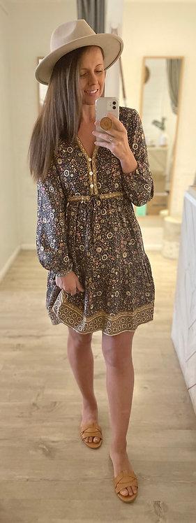 Gypsy Soul Dress | Navy