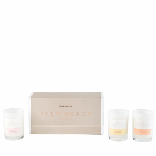 PALM BEACH COLLECTION | Trio Mini Candles Gift Pack