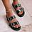 Thumbnail: Billini Ziba Sandals | Black Croc