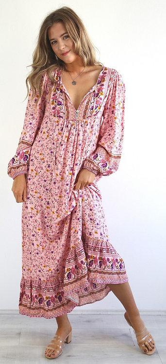 Scarlett Maxi Dress | Pink