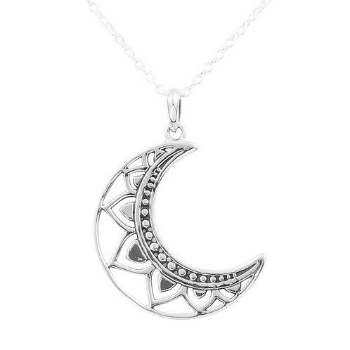 MIDSUMMER STAR | Mandala Moon Necklace