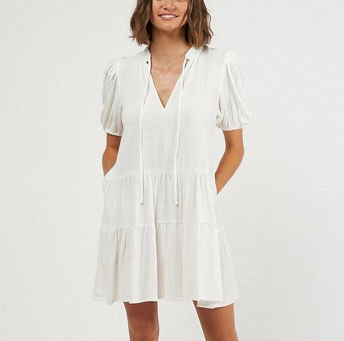 Simone Dress | White