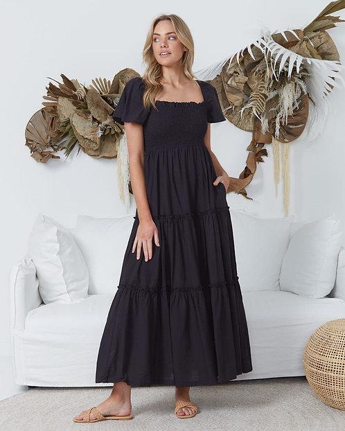 Aurora Maxi Dress   Black