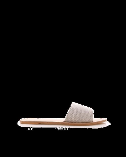 Billini Crete Sandals | Stone Linen
