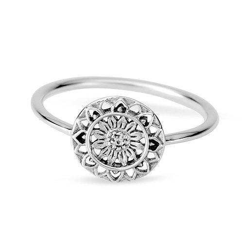 MIDSUMMER STAR | Sunflower Mantra Ring