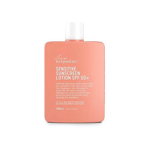WE ARE FEEL GOOD INC. | Sensitive Sunscreen SPF 50+ | 200ml